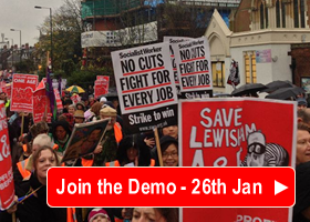 Join the 'Save Lewisham Hospital' Demo on Saturday 26th January
